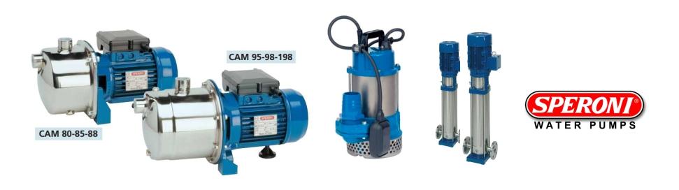 speroni water pump